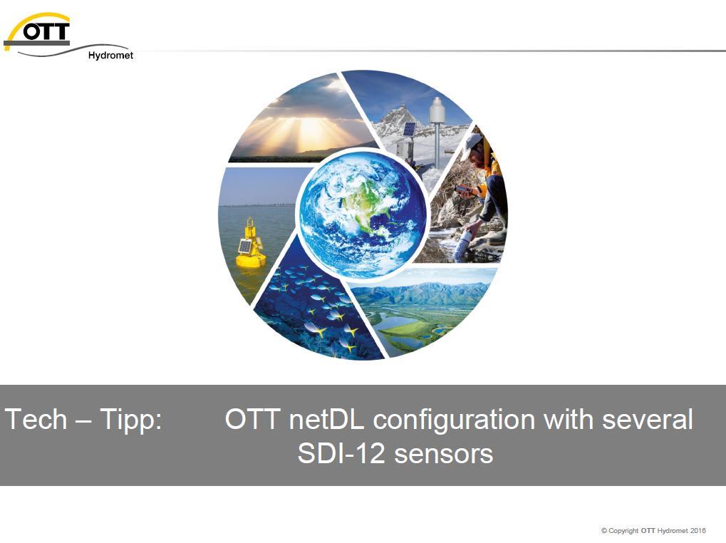 Title_netDL_several SDI12 sensors