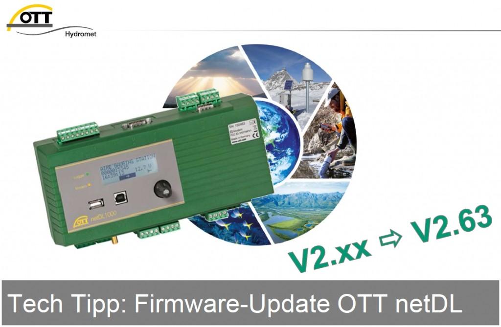 OTT Update: Tech-Tipp: Update Der OTT NetDL Firmware