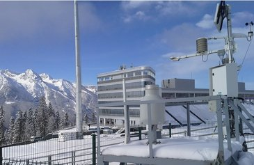 Sochi - Olympic Games Weather Station with OTT Pluvio²
