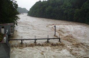 Hochwasserstand Köln
