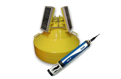 Buoy Solution to measure and transmit water quality parameters